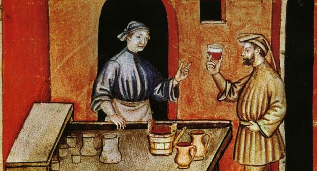 Bere nel Medioevo tra ebbrezza e sobrietà | I Doni Delle Muse Edizioni