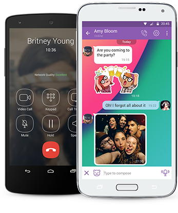 Viber, chat, chatting, android, terbaru
