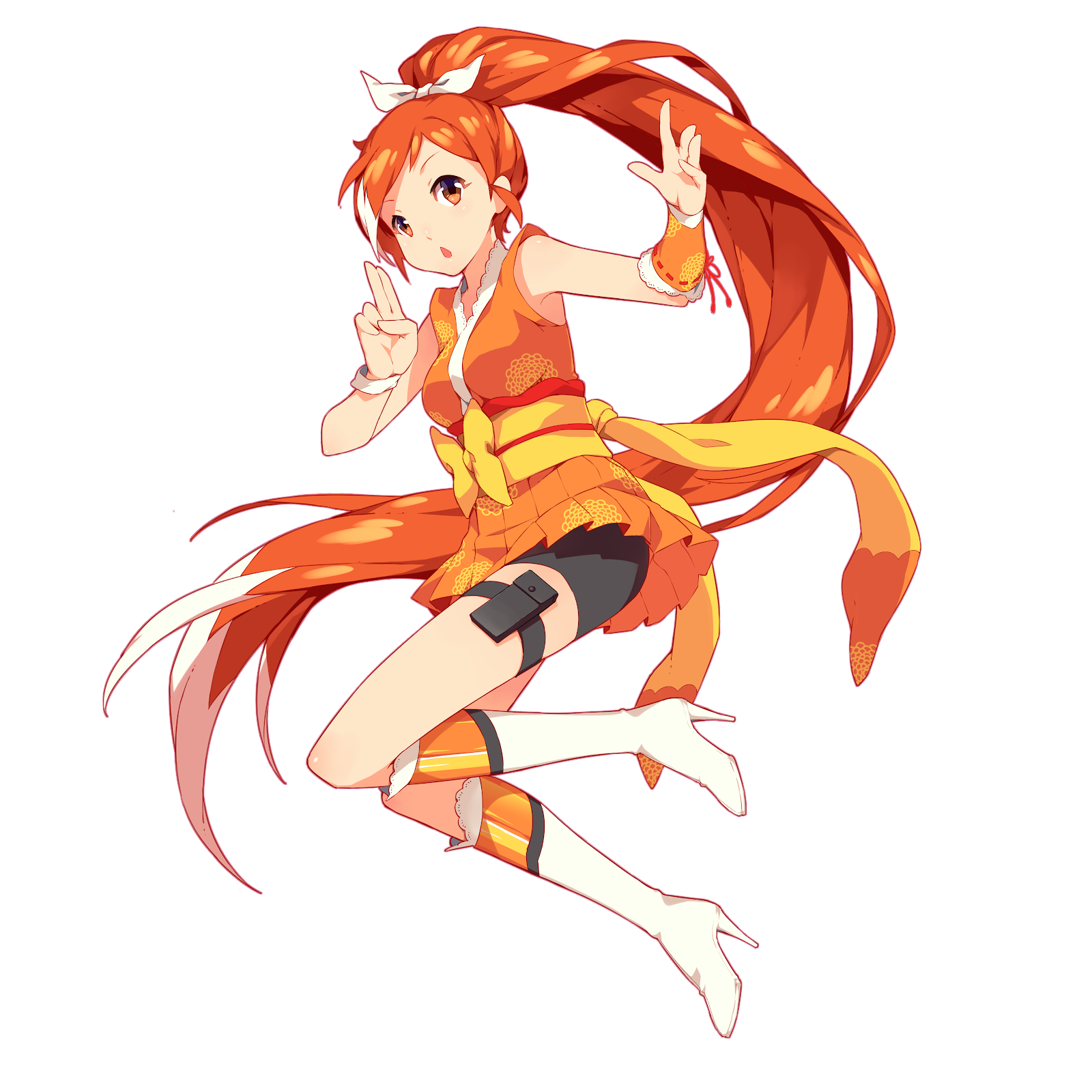 Crunchyroll - The Origin of Crunchyroll Hime