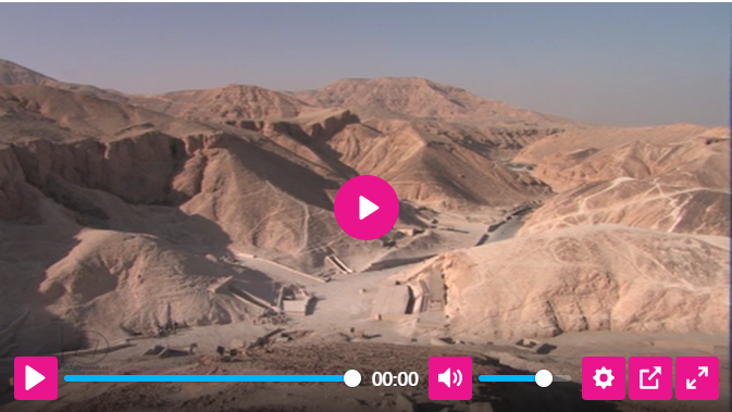 View of the Valley of the Kings, (C21th), © Laboratoriorosso / Bridgeman Images