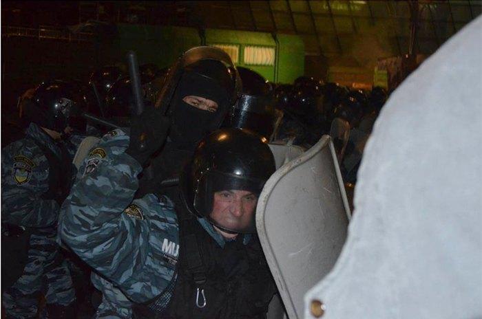 Побиття беркутівцями мітингувальників 30.11.2013