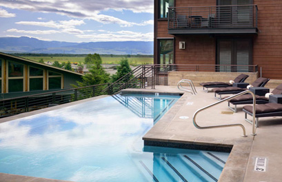 Genesis views and modern indulgences in a green hotel
