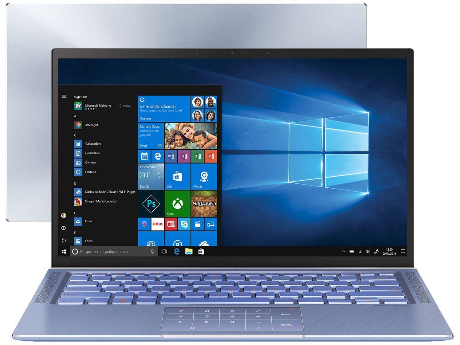 imagem de notebook do modelo Notebook Asus M515DA-EJ502T