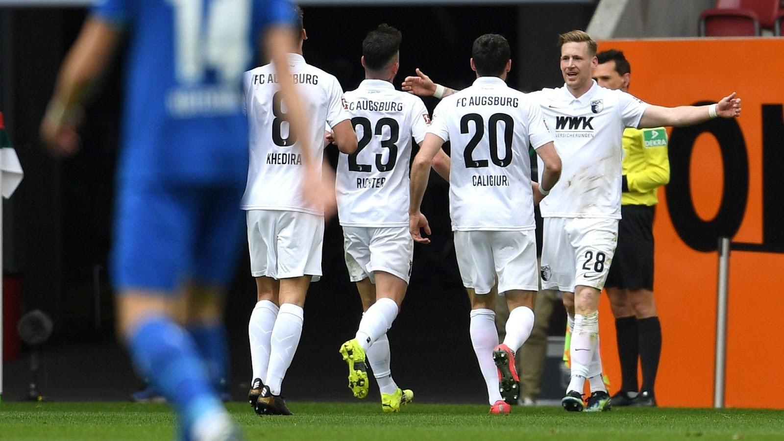 Augsburg đang thi đấu đầy khởi sắc gần đây