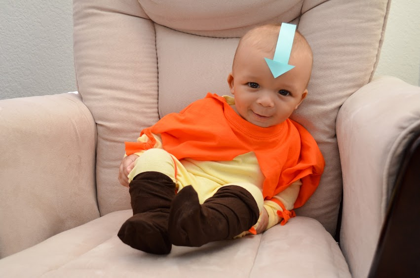 Avatar Aang baby costume
