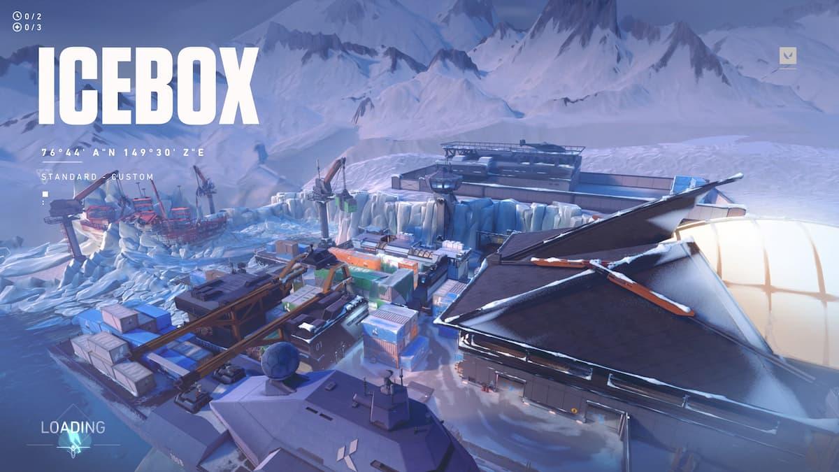 Valorant Icebox Loading Screen