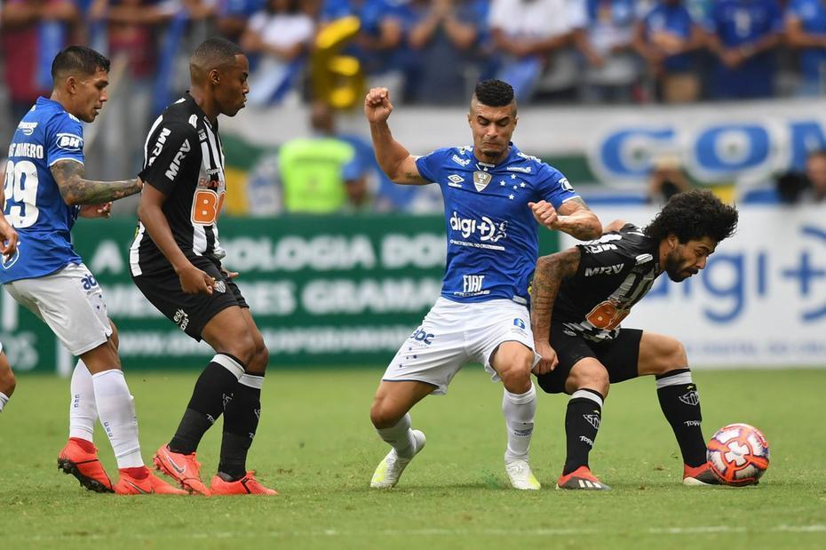 1 jogo da final do Campeonato Mineiro 2019 partida realizada entre as equipes do Cruzeiro x Atletico MG