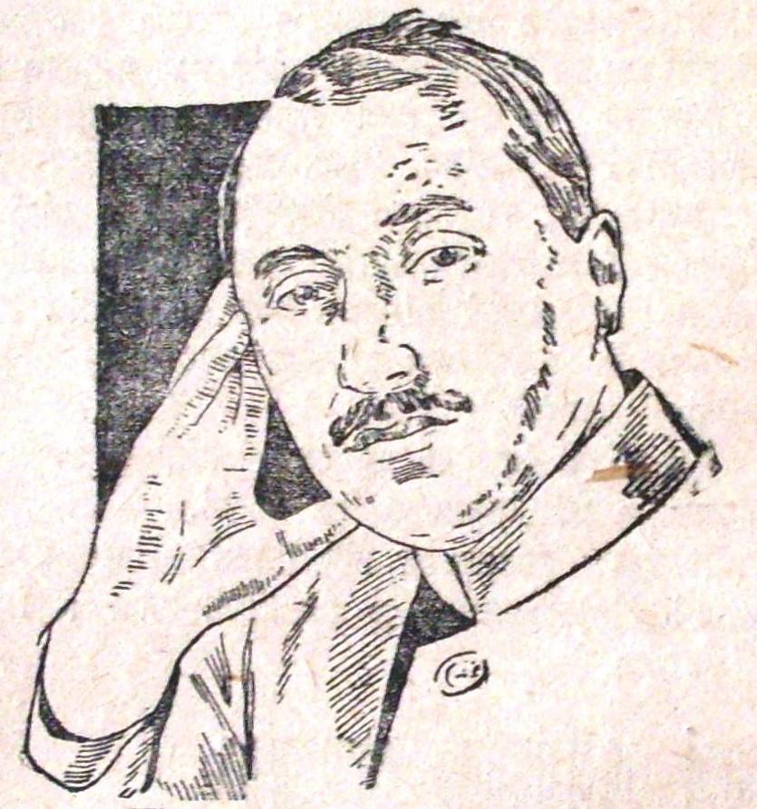 Сергій Феоктистович Буздалін. Малюнок 1927 року