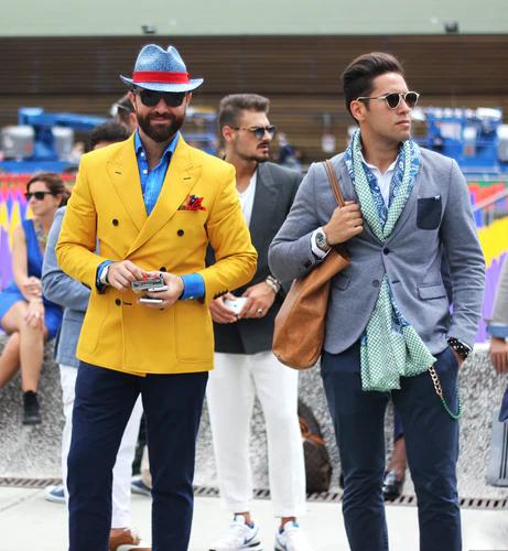 mod fashion in men