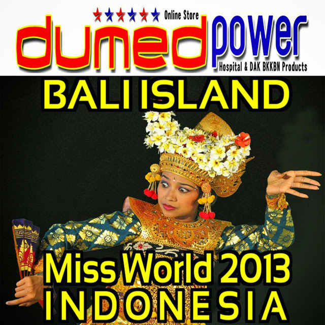 Bali Island of the Gods - Miss World 2013