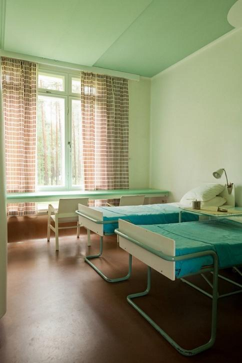 Habitación sanatorio Paimio