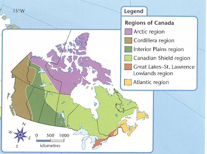 Cardinal Directions and Interpreting Maps | Student-Spark.ca
