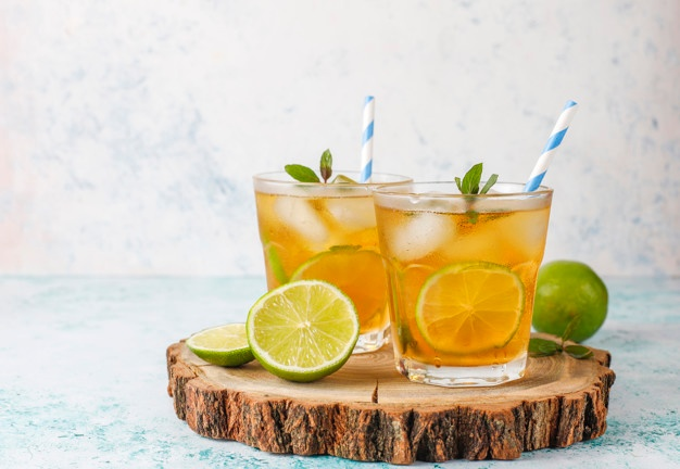 Sailor Jerry cocktail