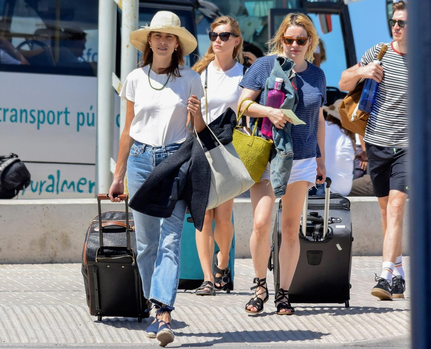 How Alexa Chung Packs for an Island Vacation to Formentera, Spain   Vogue