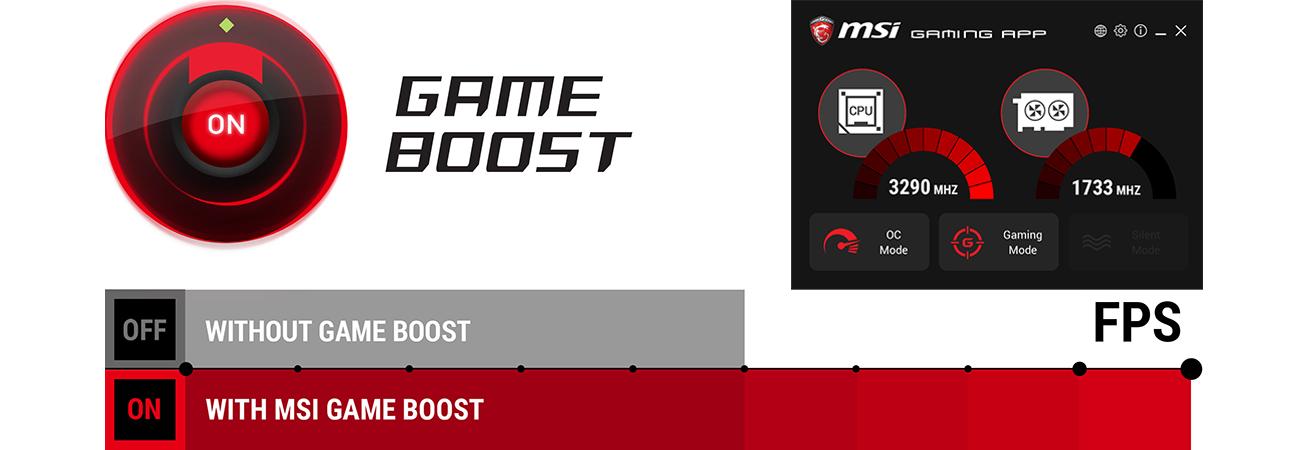 MSI Z490 Gameboost