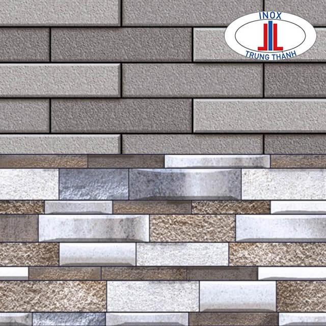 Các thiết kế gạch ốp tường vô cùng đa dạng.