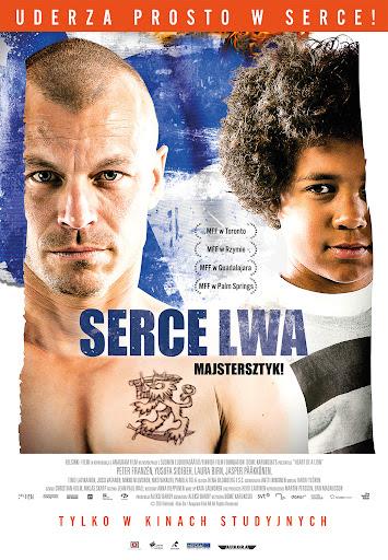 Polski plakat filmu 'Serce Lwa'
