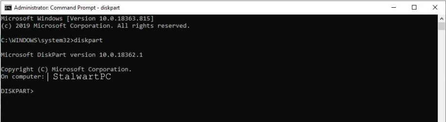 Bootable Pendrive in cmd