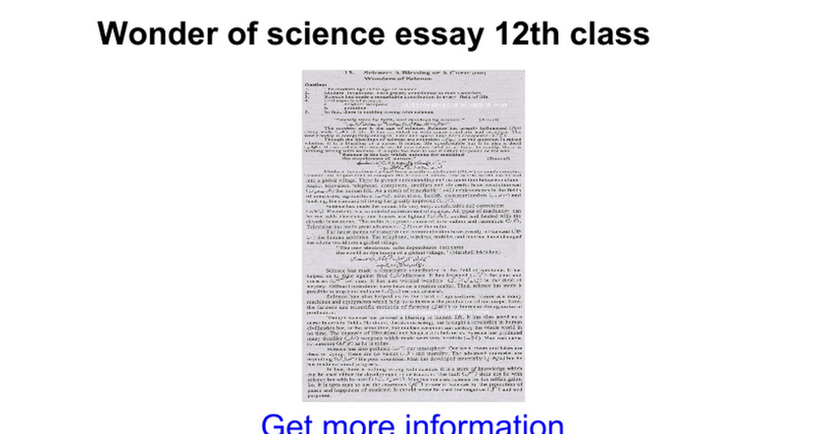 Process Essay Thesis Statement  English Class Reflection Essay also Analytical Essay Thesis Example Wonder Of Science Essay Th Class  Google Docs Essay Health