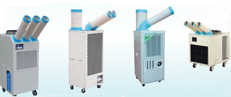 Máy lạnh di động thương hiệu Nakatomi có thiết kế thông minh