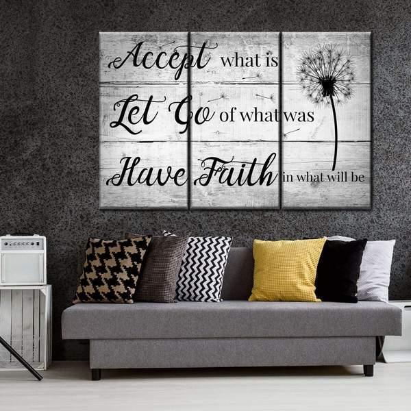 Have Faith Multi Panel Canvas Wall Art