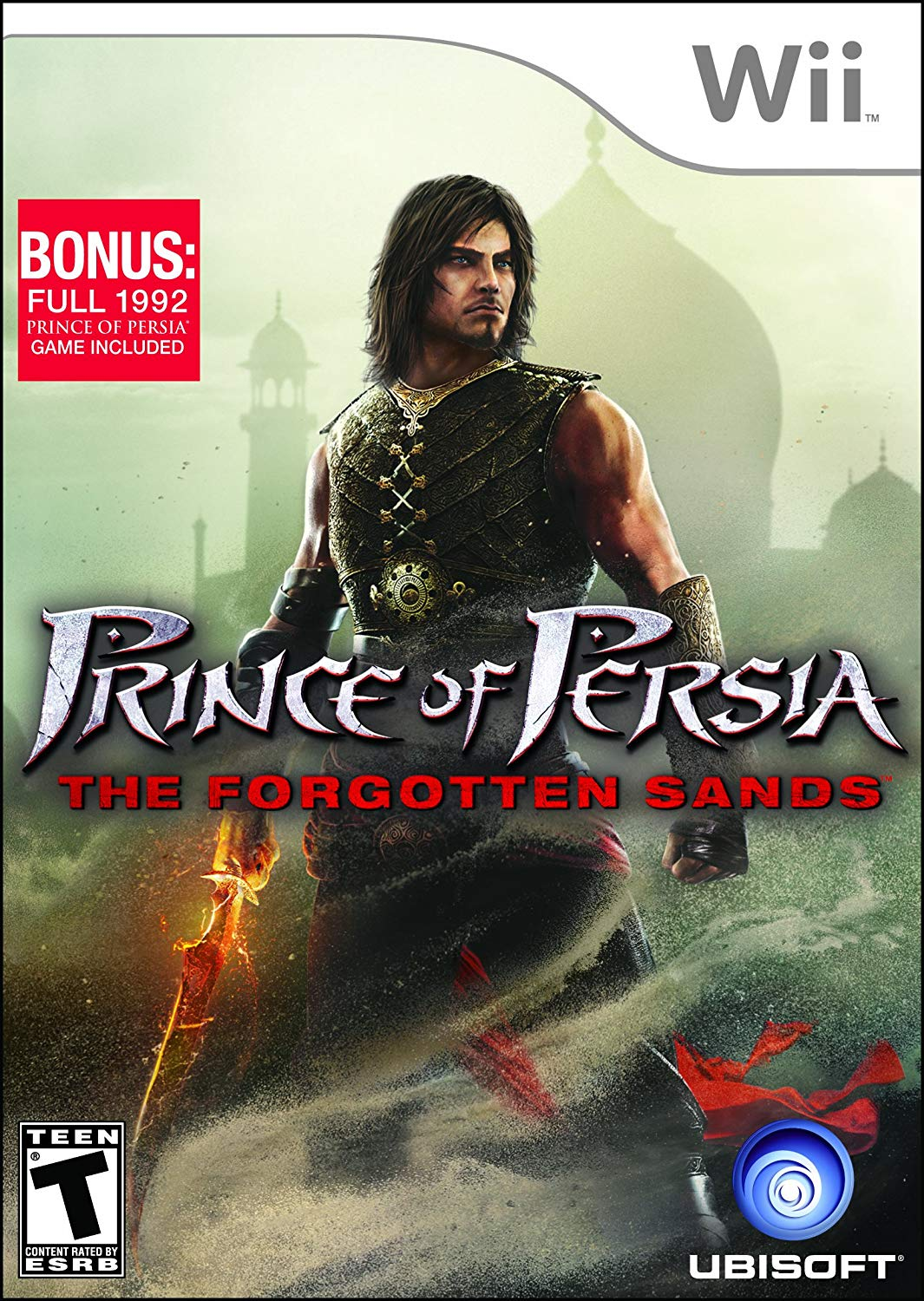 Image result for forgotten sands wii box