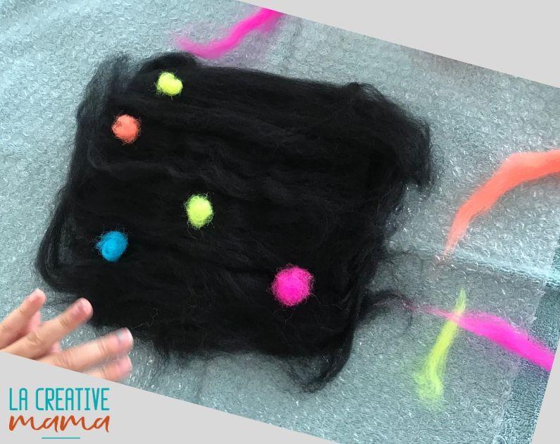 wool wet felting tutorial