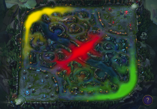 Mid in Challengers' 7 tricks to survive better without Junglers. 6