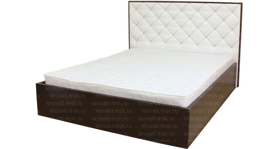 Модель кровати из ЛДСП для изготовления своими руками