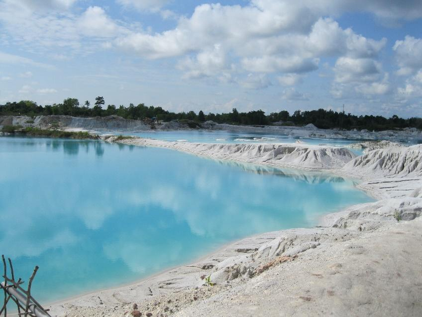Danau Kaolin Belitung Island