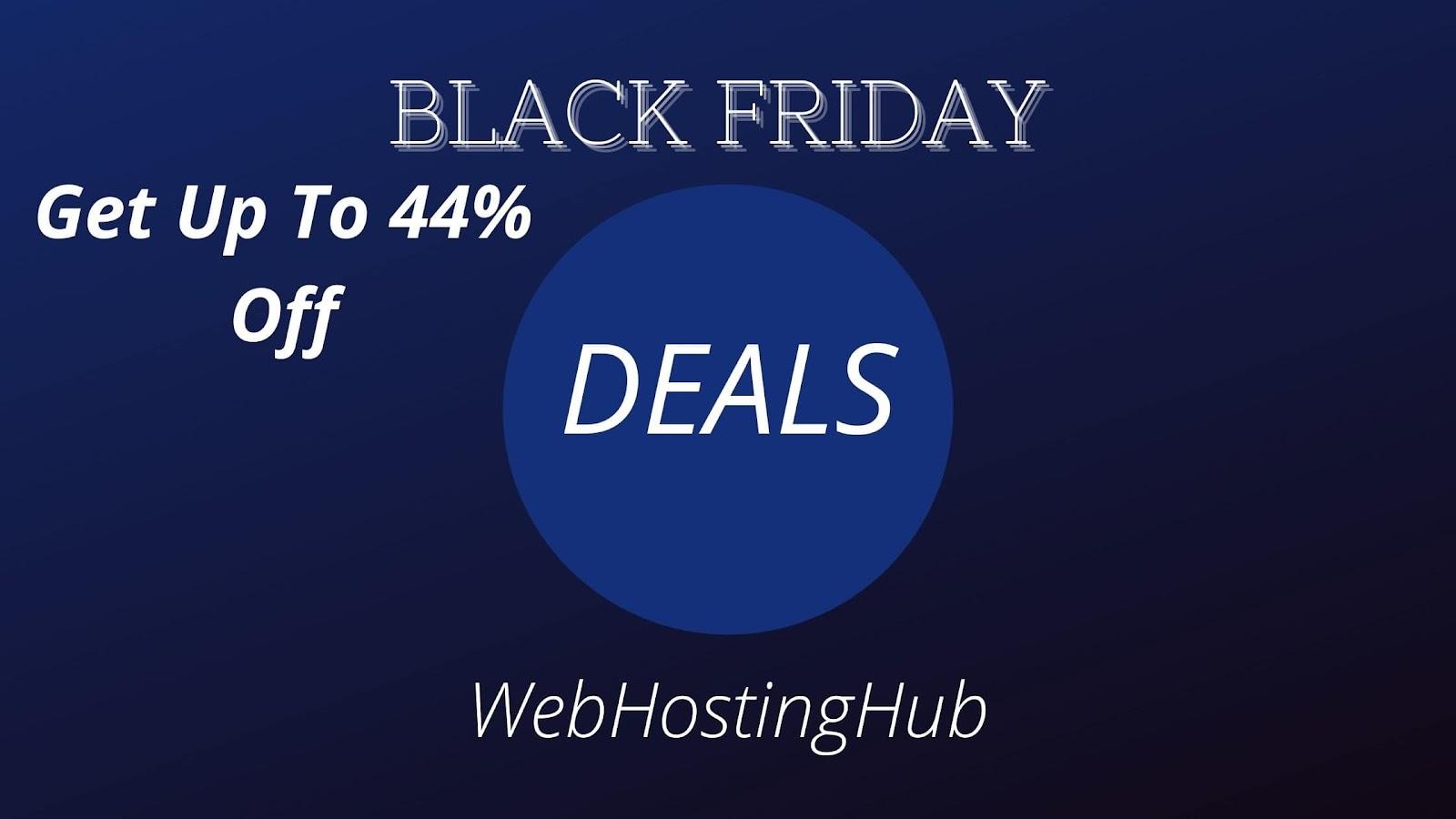WEBHOSTINGHUB: Get 44% Off
