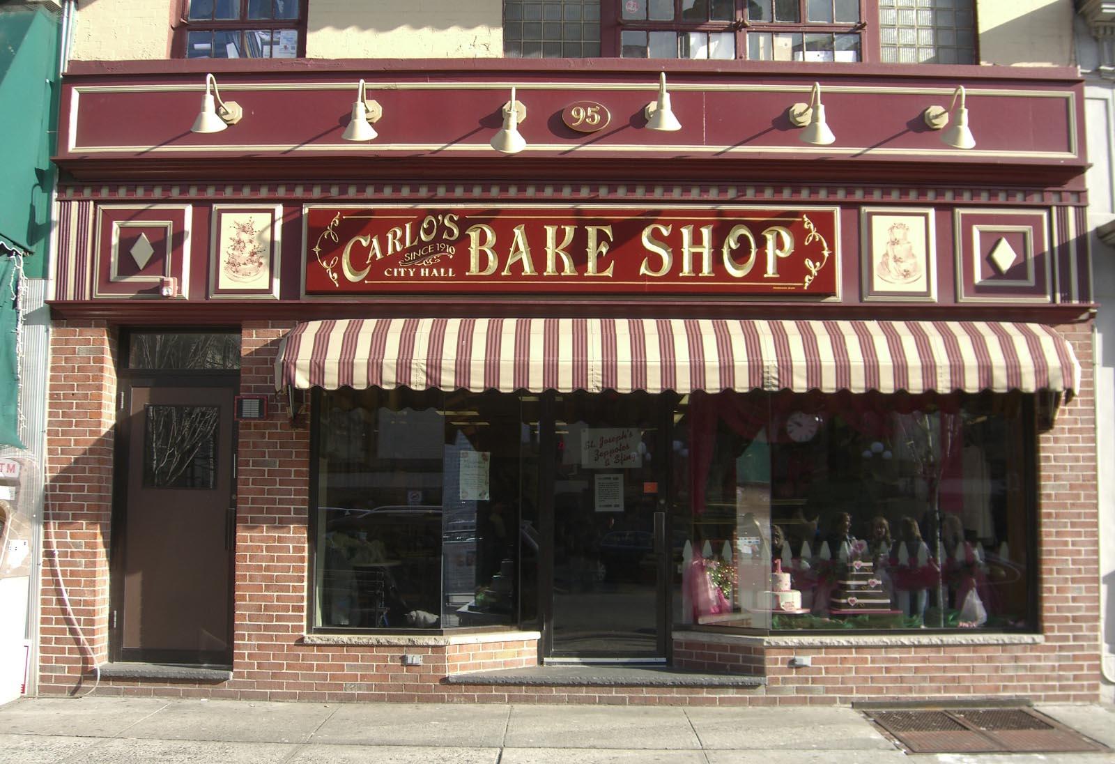 Carlo's Bake Shop in Hoboken, New Jersey, where the series is filmed ...