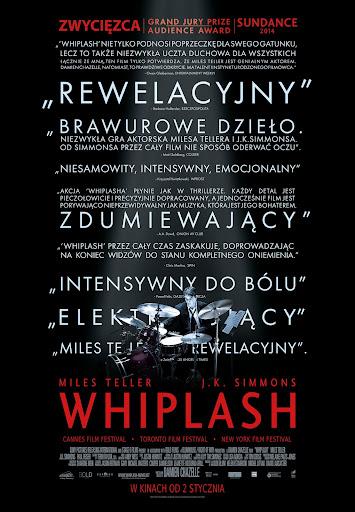 Polski plakat filmu 'Whiplash'