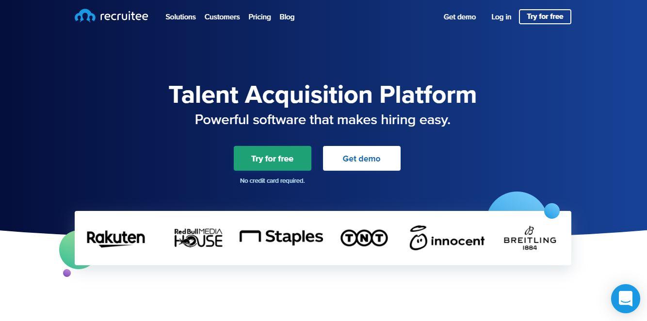 Cloud Based Recruitment Software - Recruitee