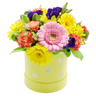 spring flowers delivered by post