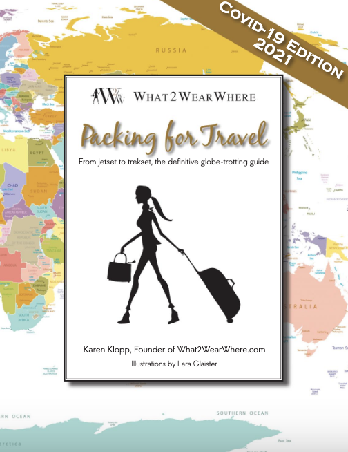 Packing for Travel covid edition e-book.