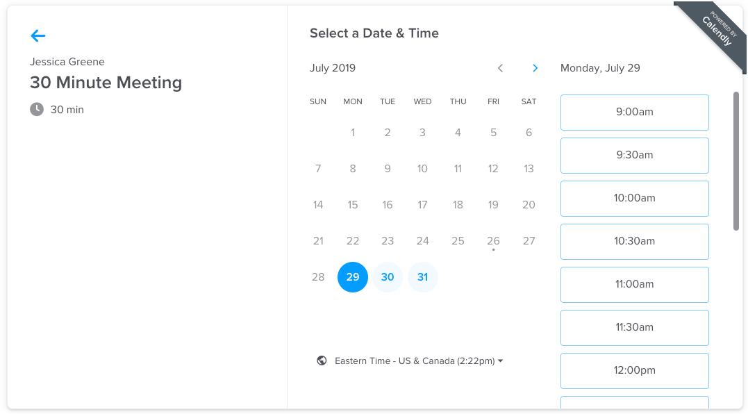 best digital marketing software for booking meetings