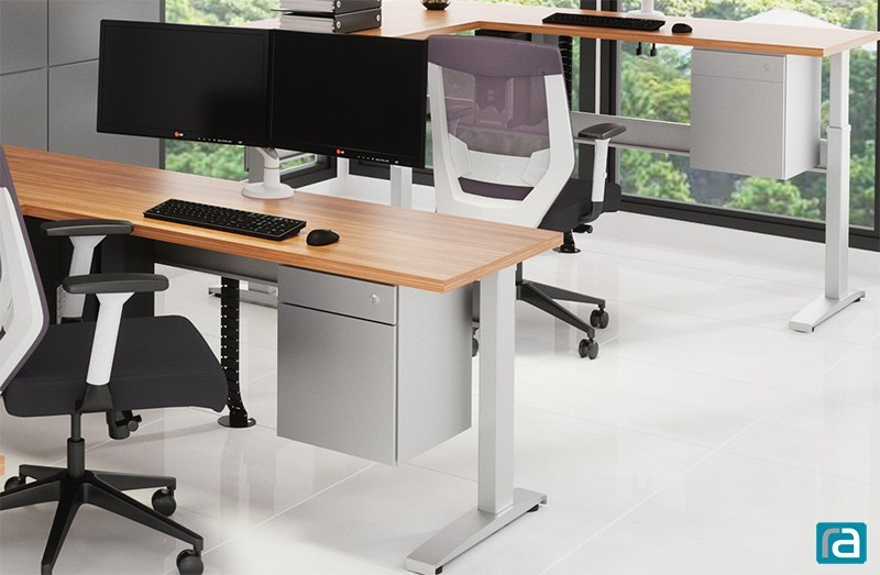 The Joey Pedestal Storage System for standing desks