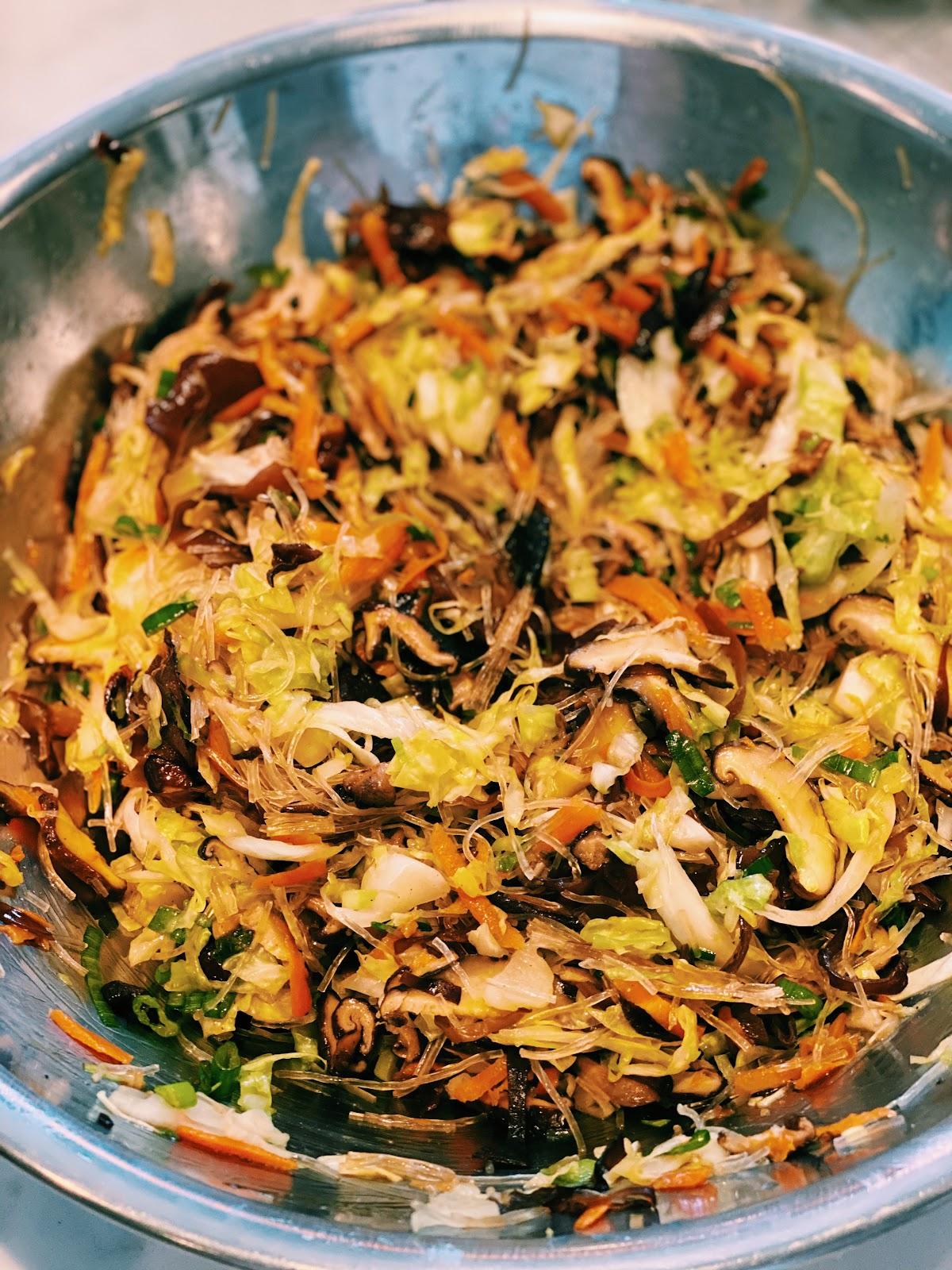 Vegetable Baos