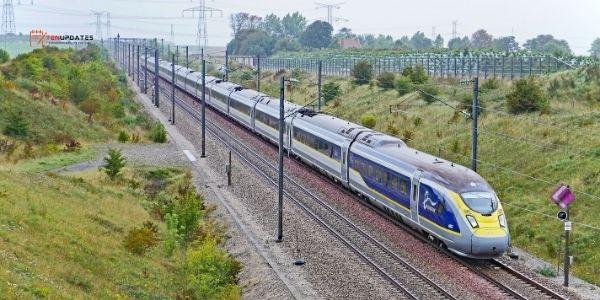 EUROSTAR E320 - 320 km/h - Top 10 Fastest Trains in the World 2021