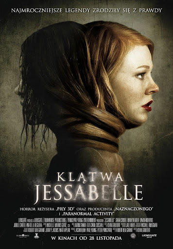 Polski plakat filmu 'Klątwa Jesabelle'