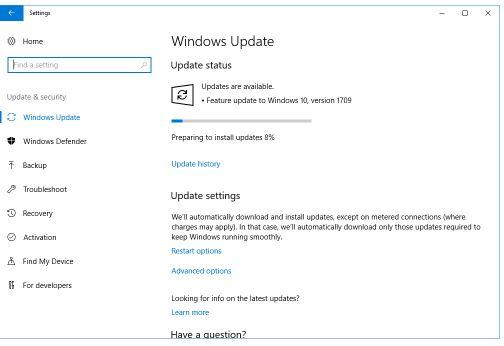 QuickBooks Error 61689 : windows update