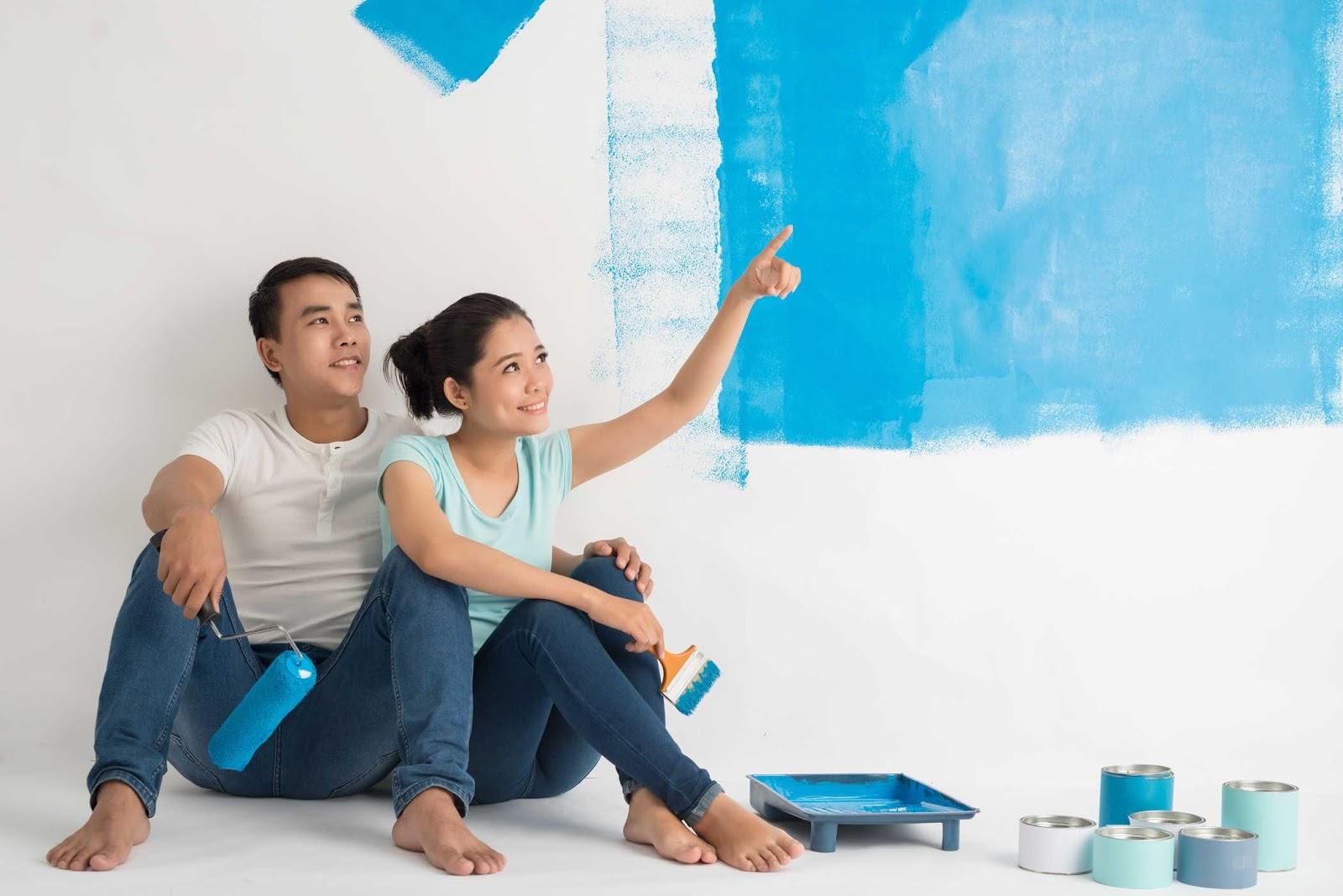 Dịch vụ sơn nhà hỗ trợ cho bạn nhiều thông tin hữu ích