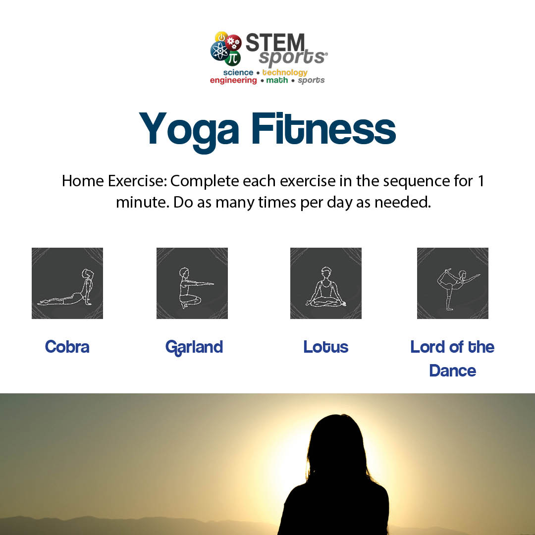 STEM Sports Yoga Fitness.