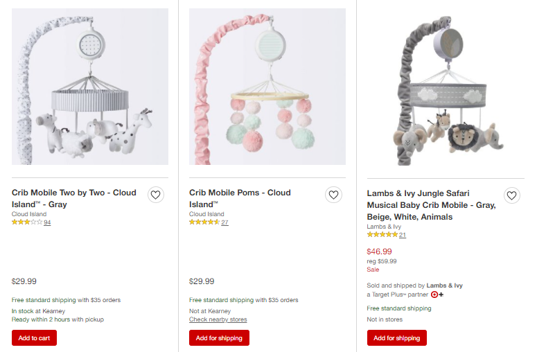 Etsy examples of dropshipping baby products
