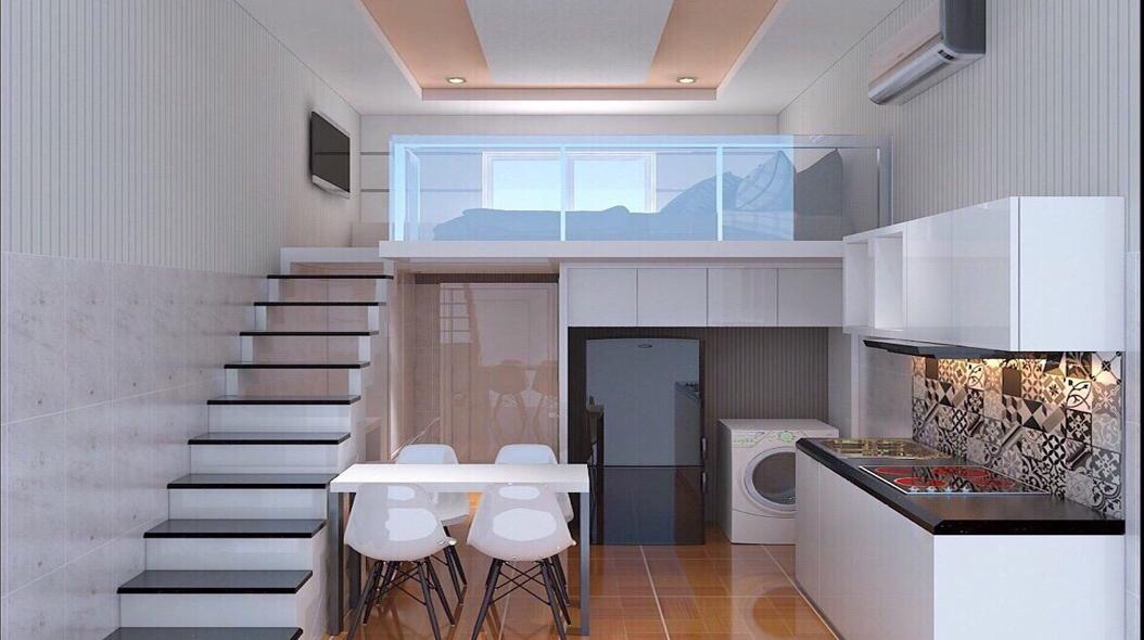 Một căn chung cư mini thường thấy
