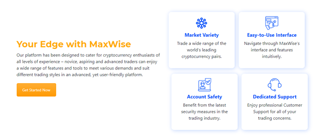 MaxWise trading benefits