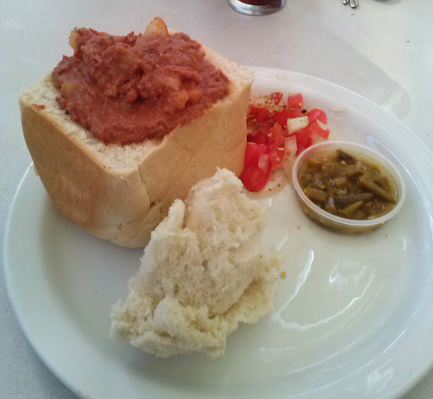 bunny chow in durban south africa