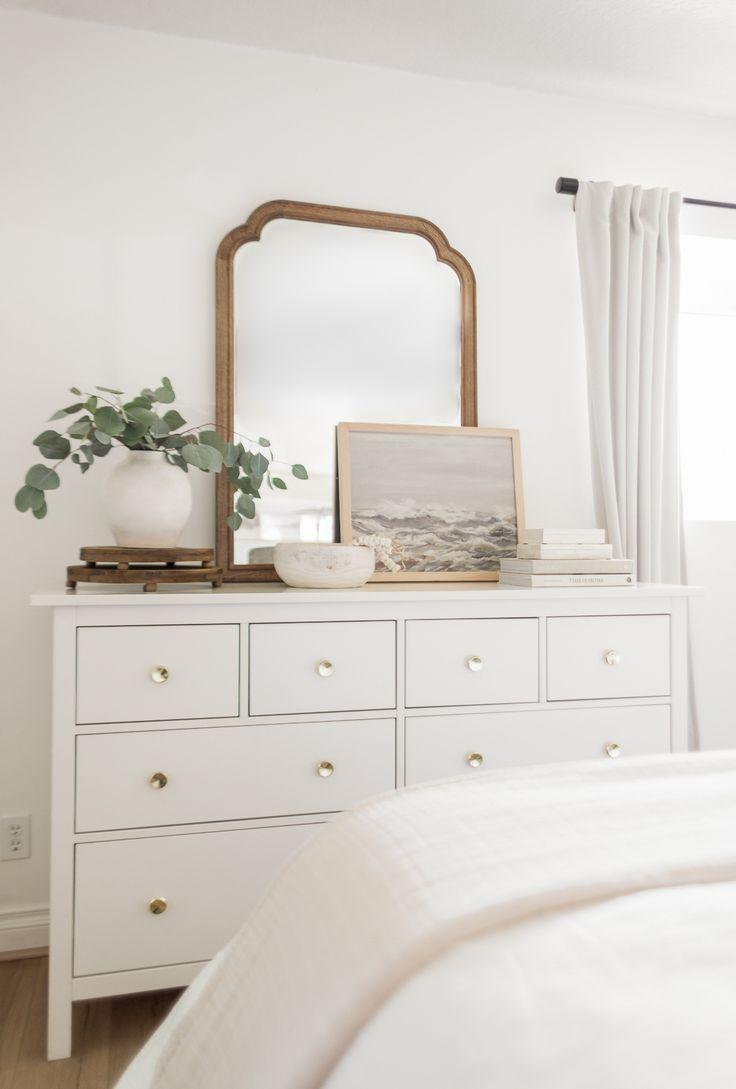 Mirror on A Dresser