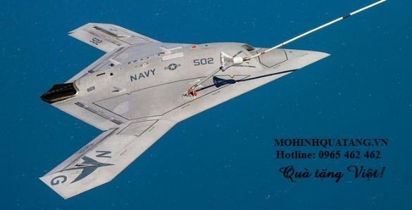 Image result for hình máy bay không người lái x-47b